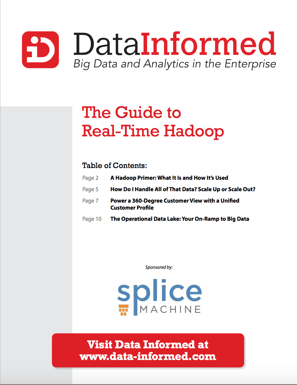 Data Informed eBook_The Guide to Real Time Hadoop